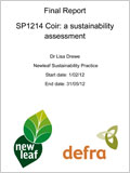 Coir: a sustainability assessment