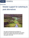 Retailer support for switching to peat alternatives
